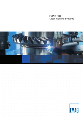 Laser-Welding Machine - ELC 160