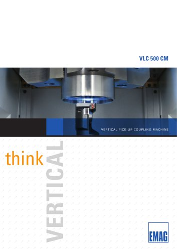 Tube and couplings machining center - VLC 500 CM