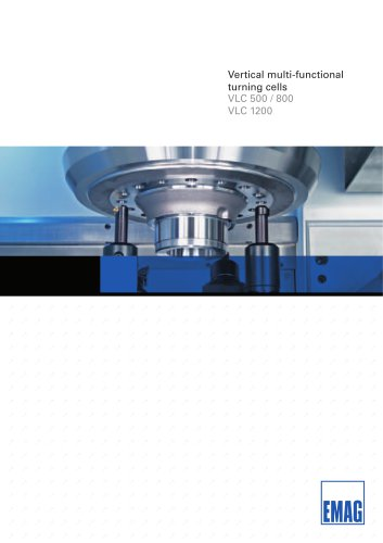 Turning Machine - VLC 500/800/1200