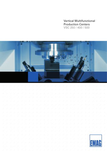 VERTICAL MULTI - FUNCTIONAL PRODUCTION CENTERS