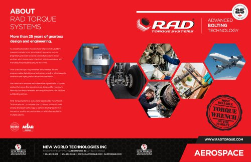 RAD Aerospace Brochure