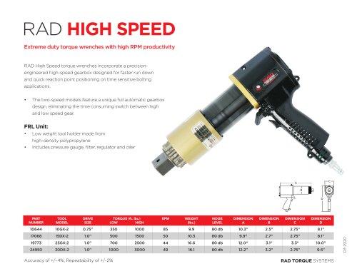 RAD High Speed (Imperial)