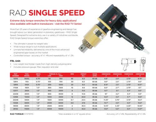 RAD Single Speed (Imperial)