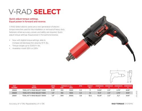 V-RAD Select (Imperial)