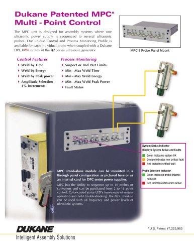 Dukane Patented MPC* Multi - Point Control