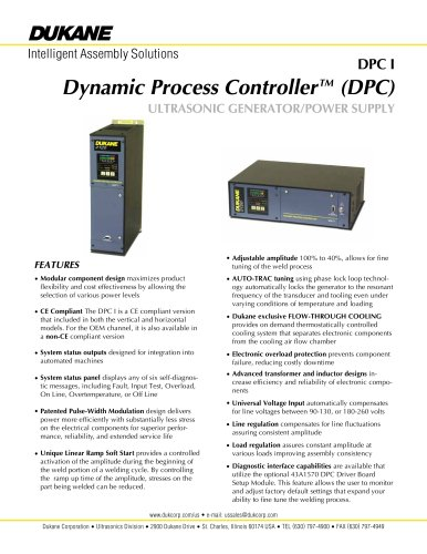 Dynamic Process Controller? (DPC)