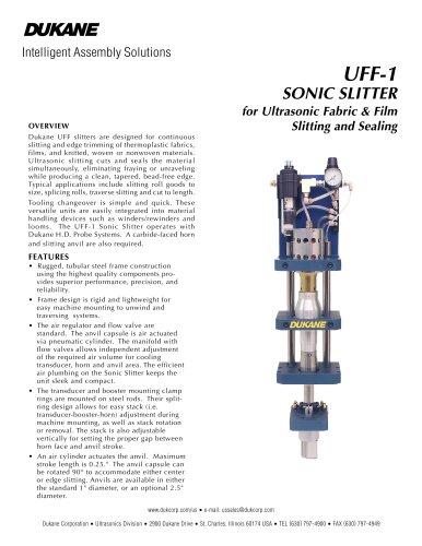 UFF-1 Sonic Slitter