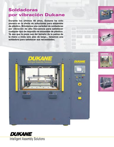Vibration Welding Brochure (Spanish)