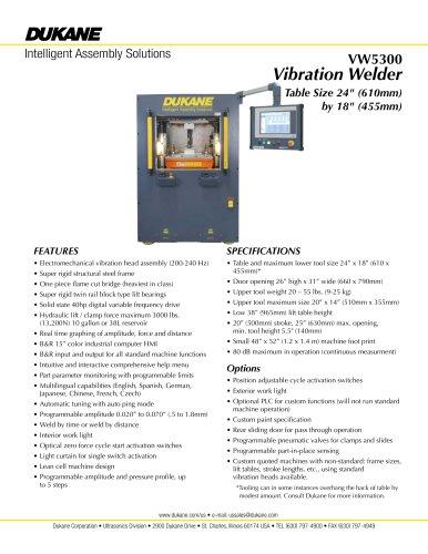 VW5300 - Vibration Welder