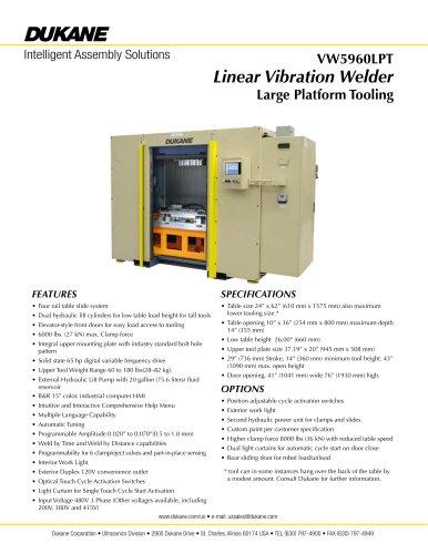VW5960LPT - Vibration Welder