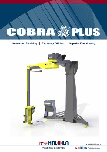 Cobra Plus semi-automatic stretch wrapping machine