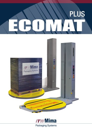 Ecomat Plus semi-automatic wrapping machine for palets