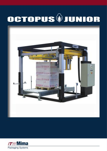 Fully automatic stretch film wrapping machine for pallet loads