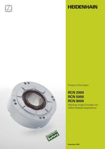 Absolute Angle Encoders for Safety-Related Applications