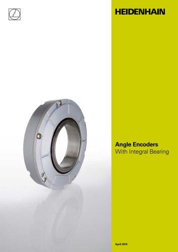 Angle Encoders  With Integral Bearing