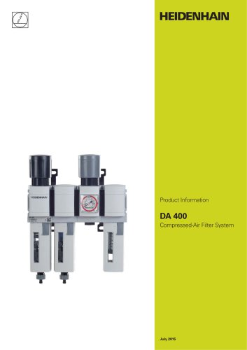 DA 400 Compressed-Air Filter System