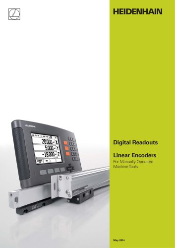 Digital Readouts Linear Encoders For Manually Operated Machine Tools