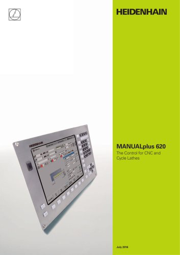 MANUALplus 620 - The Contouring Control for CNC and Cycle Lathes