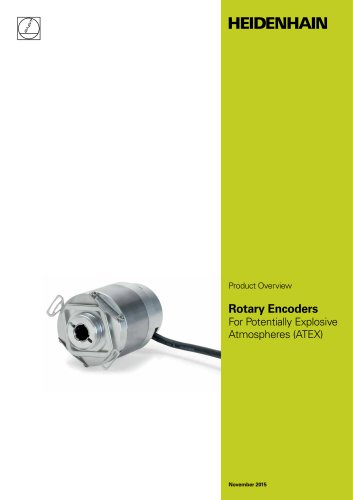 Rotary Encoders For Potentially Explosive Atmospheres (ATEX)