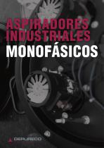 ASPIRADORES INDUSTRIALES MONOFASICOS