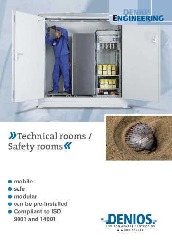 Technical / safety rooms