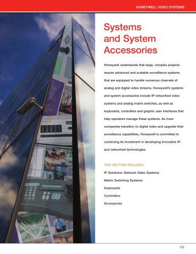 Systems and System Accessories