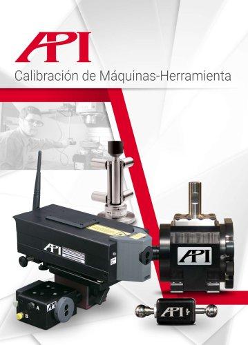 API Calibración de Máquinas-Herramienta