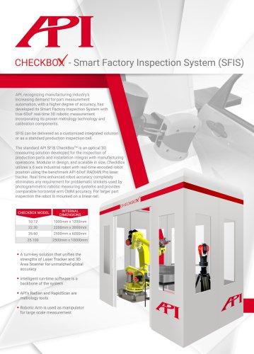 API CHECKBOX - Smart Factory Inspection System (SFIS)