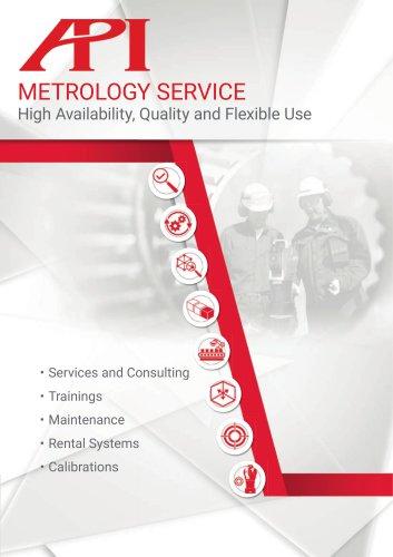 API Metrology Services