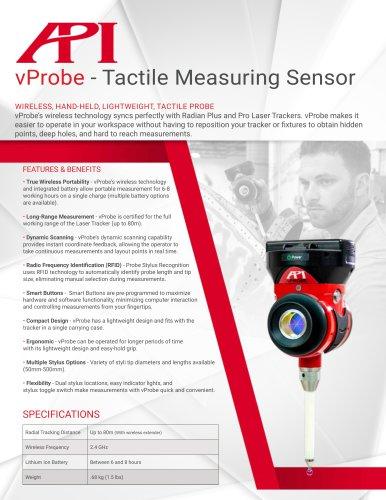 vProbe - Tactile Measuring Sensor