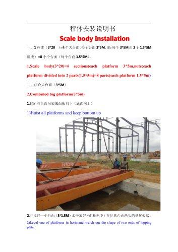 BINCEN Truck scale onsite installation steps