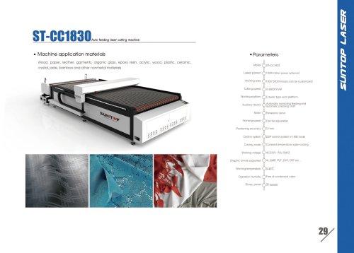 SUNTOP/Auto feeding laser cutting machine