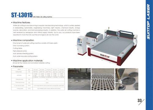 SUNTOP/CNC Water Jet cutting machine