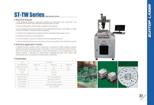 SUNTOP/Laser Soldering machine