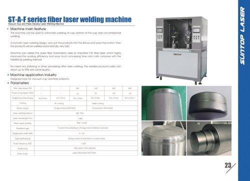 SUNTOP/Vacuum Cuo and Flask Industry Laser Welding machine