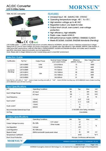 LDE15-20B03A2S