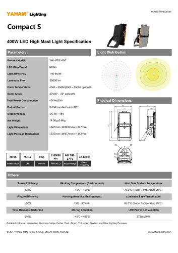 Compact S 400W LED