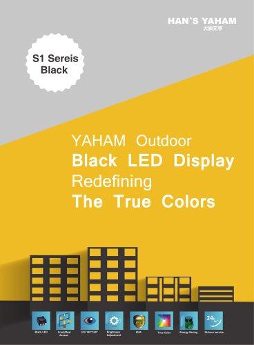 Yaham Outdoor Black LED Display