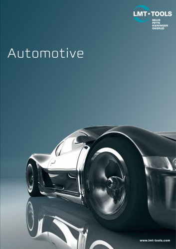 Advanced Tooling for Automotive Industry