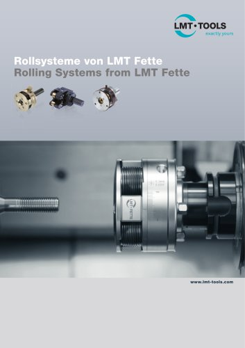 Rolling Systems by LMT Fette