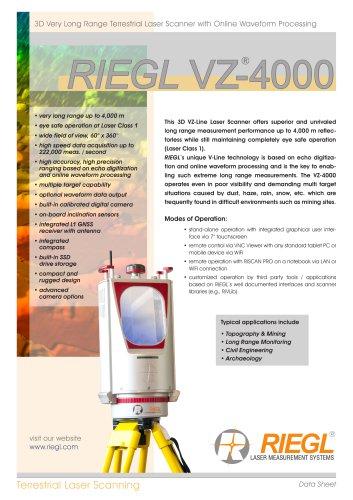 RIEGL VZ-4000