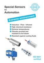 Sensors for extreme environment in industry