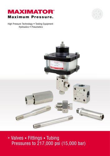High Pressure Technology • Testing Equipment   Hydraulics • Pneumatics