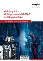 Welding 4.0 – Multi-process MIG/MAG welding machine