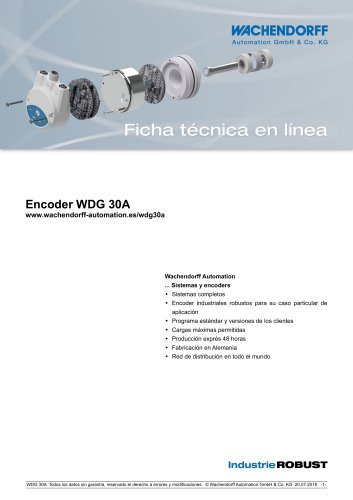 Encoder WDG 30A