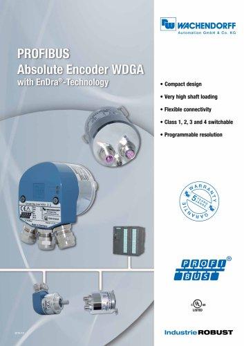 PROFIBUS Absolute Encoder WDGA