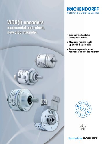 WDG(I) encoders