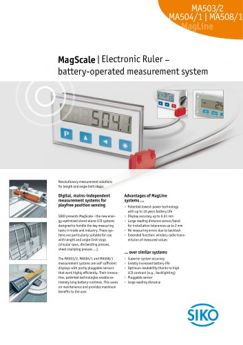 MagScale | Electronic Ruler –  battery-operated measurement system