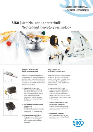 SIKO | Medical and laboratory technology