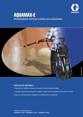 AQUAMAX-E - Hidrolimpiadoras eléctricas a presión para profesionales